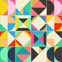 Adesivo para Azulejo - Colors 02