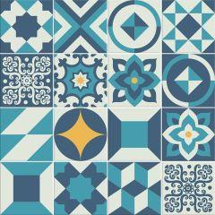 Adesivo para Azulejo - Hidráulico 02 - Egeu