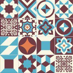 Adesivo para Azulejo - Hidráulico 02 - Jolie