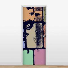 Adesivo para Porta Blocks