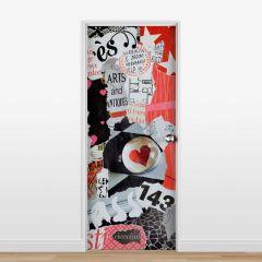 Adesivo para Porta Colagem #09