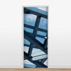 Adesivo para Porta Deconstruction #03