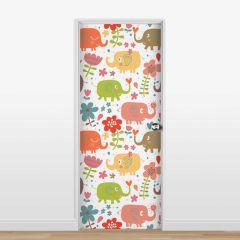 Adesivo para Porta Elefantes