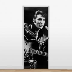 Adesivo para Porta Elvis #01
