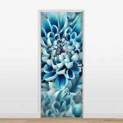 Adesivo para Porta Flor Azul