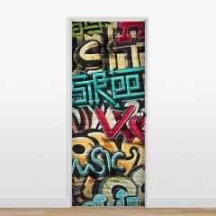 Adesivo para Porta Grafite #01