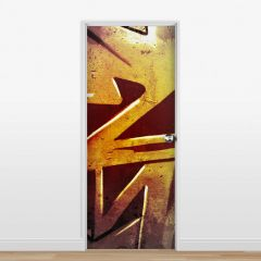 Adesivo para Porta Grafite #02