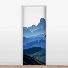 Adesivo para Porta Montanhas #02
