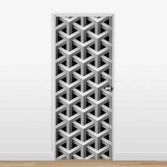 Adesivo para Porta Pattern #11