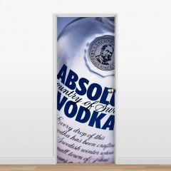 Adesivo para Porta Vodka #01