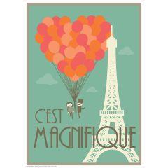 Poster Cest Magnifique
