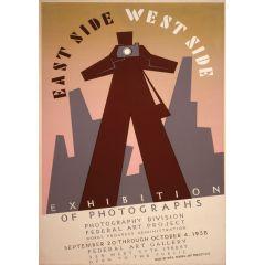 Poster East Side West Side
