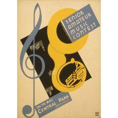 Poster Senior Music Contest