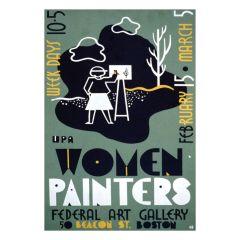 Poster Women Painters