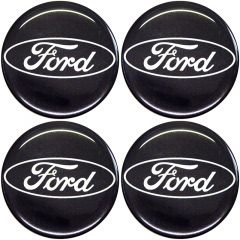 Emblema Adesivo Calota Ford - Kit 4 Unid