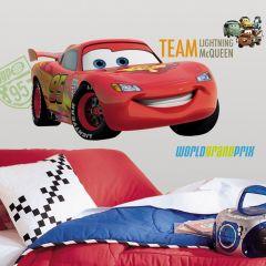 Adesivo Cars 2 Lightning McQueen Gigante - Disney