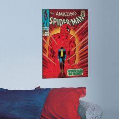 Adesivo Homem-Aranha Capa Quadrinho Walking Away