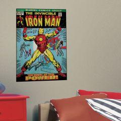 Adesivo Homem de Ferro Capa Quadrinho