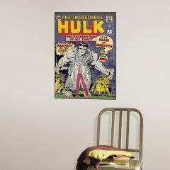 Adesivo Incrível Hulk Capa Quadrinho #1