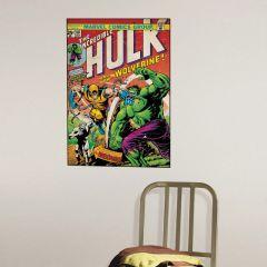Adesivo Incrível Hulk e Volverine Capa Quadrinho