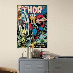 Adesivo Poderoso Thor Capa Quadrinho