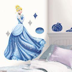 Adesivo Cinderela Glamour - Disney