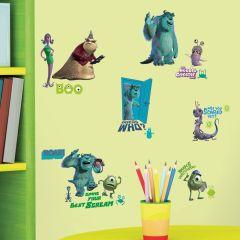 Adesivo Monstros S.A Cartela - Disney Pixar