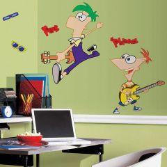 Adesivo Phineas e Ferb - Disney