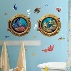 Adesivo Procurando Nemo Escotilha - Disney Pixar