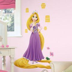 Adesivo Rapunzel que Brilha no Escuro - Disney