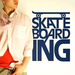 Adesivo de Parede Skateboarding