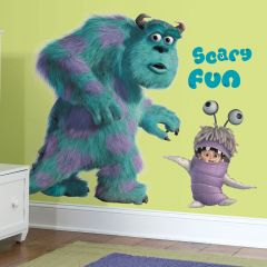 Adesivo Sulley e Boo Monstros S.A - Disney Pixar
