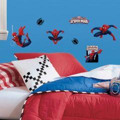 Adesivo Ultimate Homem-Aranha Cartela