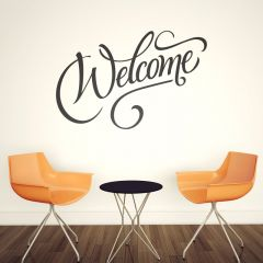Adesivo de Parede Welcome