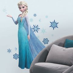 Adesivo Elsa com Glitter Frozen - Disney