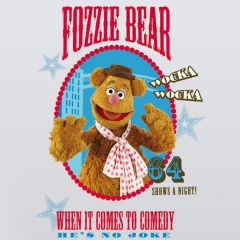 Adesivo Fozzie Muppets - Disney