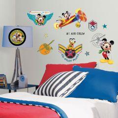 Adesivo Mickey Mouse Piloto - Disney