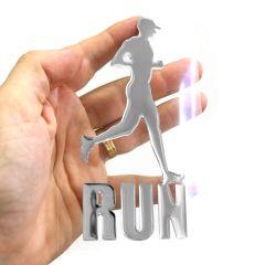 Adesivo Corredor Run