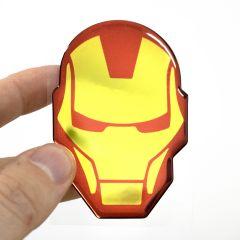 Adesivo Capacete Homem de Ferro