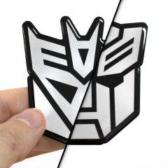 Adesivo Transformers Resinado