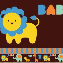 Border Adesivo Baby Safari