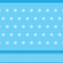 Border Adesivo Petit Poa Azul-claro