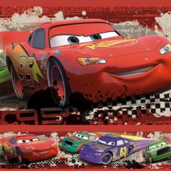 Border Removível Cars Piston Cup Racing - Disney