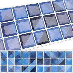 Faixa Pastilha Adesiva Resinada - Cross Azul