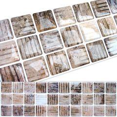 Faixa Pastilha Adesiva Resinada - Pedra 01