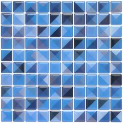 Pastilha Adesiva Resinada - Cross Azul