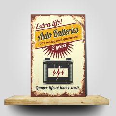 Placa Auto Batteries