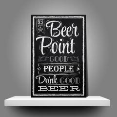 Placa Beer Point