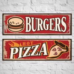 Placa Burgers / Hot Pizza