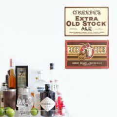 Placa O'Keefe's / Bock Beer